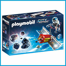 NEW PLAYMOBIL SPACE METEOROID DESTROYER with ASTRONAUT 6197