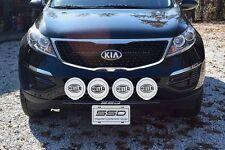 FITS 2011-2016 KIA Sportage;SSD RALLY LIGHT BAR(Bull, Nudge Bar), 4 Light Tabs!