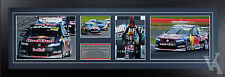 CRAIG LOWNDES RED BULL RACING SIGNED & FRAMED MOTOR RACING MEMORABILIA