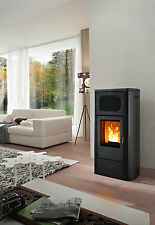 STUFA A PELLET 9.5kw RED mod PRIMULA air. Poêle à granulés RED MCZ