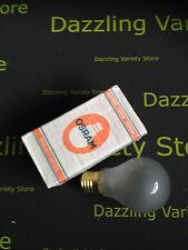 25 x OSRAM PEARL lampada 60W 120V LAMPADINE TAPPO A VITE E27 / ES qualità fatta in UK