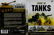 STORY OF TANKS.  TANK WARFARE OVER THE LAST 100 YEARS. NEW DVD