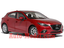 1:18 Changan Mazda 2014 Mazda 3 Hatchback Soul Red Metallic Dealer Edition