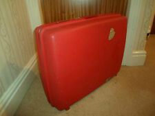 "Rojo Vintage Retro Hardbody Samsonite Saturn 25 ""Maleta ~ Samsonite Canada Ltd"