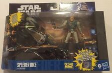 STAR WARS Clone Wars SPEEDER BIKE With CASTAS Package Converts to Diorama