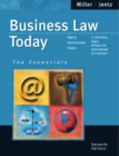 Business Law Today, Essentials : Text and Summarized Cases--E-Commerce,...