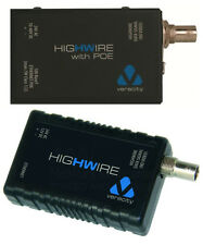 VERACITY HIGHWIRE POE, Ethernet PoE over Coax, both switch and IP camera side