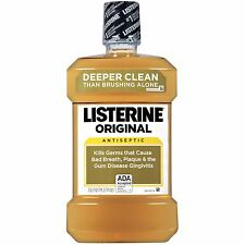 Listerine Antiseptic Mouthwash Original 1.5 Liter (Pack of 6)