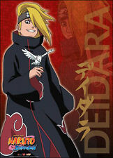 Naruto Shippuden Deidara GE5245 Anime Art WALL SCROLL Cloth Poster BRAND NEW!!!
