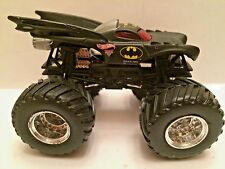 Hot Wheel Monster Jam Monster truck 1:64 scale plastic base BATMAN