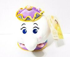 "AUTHENTIC DISNEY STORE BEAUTY & THE BEAST MRS. POTTS PLUSH 7 1/2"" TEAPOT S"