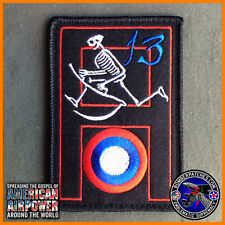 13th Bomb Squadron Oscar Heritage Felt Patch, B-2 509th Bomb Wing Whiteman AFB B