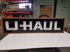 "UHAUL LED Light Sign Box   10''x36""x2''"