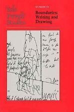 Yale French Studies, Number 84: Boundaries: Writing and Drawing (Yale -ExLibrary