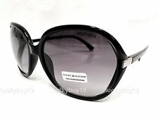 NWT Tommy Hilfiger MOLLY Authentic Black Designer Sunglasses Women /290/ NEW