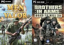 Men of Valor The Vietnam War & brothers in arms the road to hill 30   new&sealed