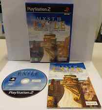 Console Game SONY Playstation 2 PSX2 PS2 PAL ITALIANO MYST III 3 EXILE Ubi Soft