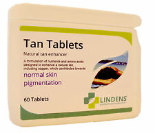 60 Tanning Tablets Pills Tan Bronzed *with little sun exposure SAFE 100% NATURAL