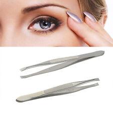 Augenbrauen -Pinzette Haar Slanted Edelstahl Pinzette Werkzeuge