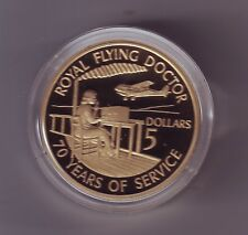 1928 - 1998 Proof $5 Coin ROYAL FLYING DOCTOR SERVICE Australia