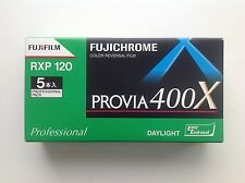 Fuji PROVIA 400x RXP 120 ROLL FILM/COLOR REVERSAL FILM MHD/EXP. date 2017-7 NEW!