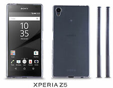 Sony Xperia Z5 Clear Silicone Gel Case Cover ultra thin
