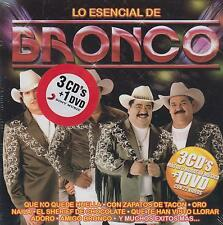 CD - Lo Esencial De Bronco NEW 3 CD's & 1 DVD Includes Adoro FAST SHIPPING !