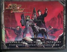 Starship Troopers The Miniatures Game Heroes of the Mobile Infantry Box Set MINT