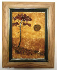 Handcrafted Baltic Amber Picture From Lithuania - Landscape