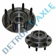 Both (2) New Front Wheel Hub and Bearing Assembly 2000-2002 Dodge Ram 2500 2WD