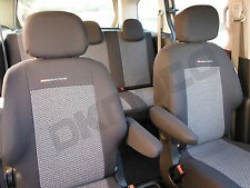 TAILORED Seat covers for Citroen Berlingo Multispace VT VTR - full set  grey 2