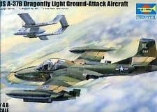 Trumpeter US A-37B Dragonfly Light Ground-Attack Vietnam Chile 3 Versionen 1:48
