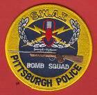 PITTSBURGH PENNSYLVANIA SWAT POLICE BOMB SQUAD SHOULDER PATCH