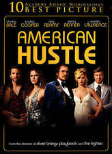 American Hustle (DVD, WS, 2014, Includes Digital Copy UltraViolet) NEW
