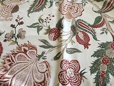 NEW WILLIAMS SONOMA French Floral Placemats Green Set of 4 Table Linen Cotton