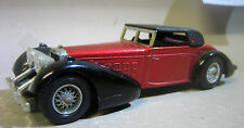 Collectable Matchbox models of 1938 Hispano Suiza / miniature car