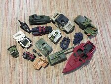 Nice lot of 15 GI Joe Hasbro Toy Action Figure Vehicles for parts