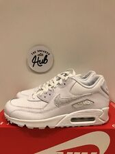 Nike Air Max 90 Triple White 724821 100 UK6 EUR40