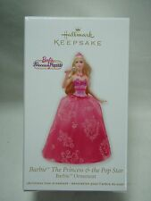 2012 Hallmark Keepsake Ornament Barbie The Princess and The Pop Star