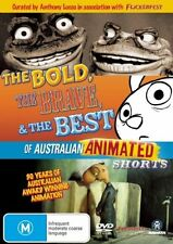 The Bold Brave And The Best Of Australian Animated Shorts (DVD, 2008) Region 4