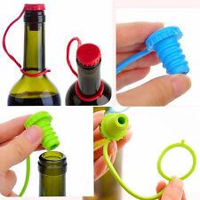 Silikon Kronkorken Verschluss Flaschenverschluss Dichtungsstopfen Farbewahl Neu