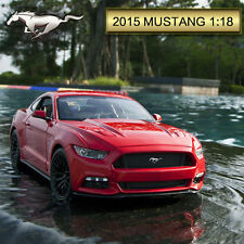 MAISTO BLUE RED WHITE 1:18 FORD MUSTANG 2015 5.0 DIECAST MODEL CAR VEHICLE TOY