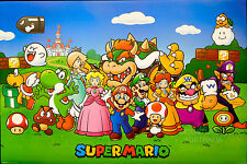 SUPER MARIO ANIMATED - CHARACTERS POSTER (61x91cm)  NEW LICENSED ART