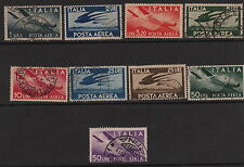 ITALY : 1945 Air  set  SG670-8 used