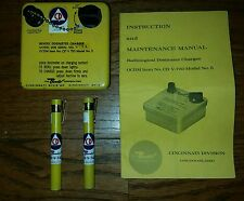 CDV-750 DOSIMETER RADIATION  DOSIMETER CHARGER WITH PENS