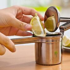 Stainless Steel Bar Fruit Lemon Orange Juicer Squeezer Manual Press KitchenTool