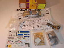 1/43 KIT WHITE METAL AMR CHEVROLET CORVETTE CALLAWAY Le mans 1994
