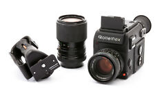 Rolleiflex SL 2000 For motor with 50mm 1:1,8 Planar HFT u. 35-105mm 1:3,5-4,3