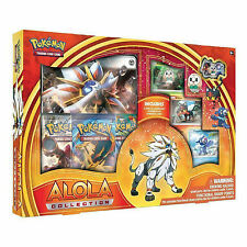 Pokemon Solgaleo GX Alola Collection Box: Booster Packs +Promo Cards -Sun & Moon