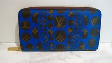 LOUIS VUITTON YAYOI KUSAMA BLUE PUMPKIN DOT ZIPPY WALLET ~~NEW WITHOUT TAGS~~